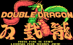 Double Dragon zmenšenina