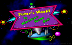 Fuzzy's World of Miniature Space Golf zmenšenina
