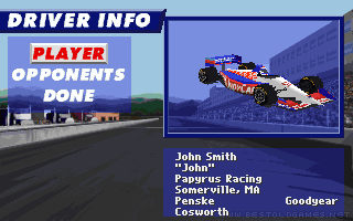 IndyCar Racing II screenshot