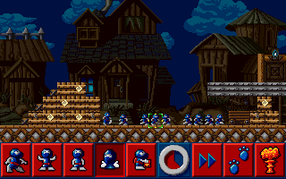 Lemmings 3: All New World of Lemmings screenshot
