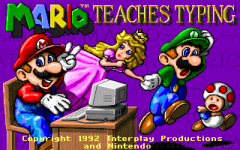 Mario Teaches Typing Miniaturansicht