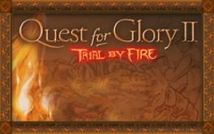 Quest for Glory II: Trial by Fire zmenšenina