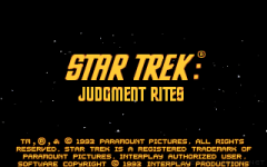 Star Trek: Judgment Rites zmenšenina