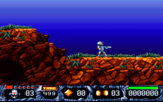 Turrican II: The Final Fight obrázok