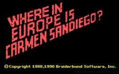 Where in Europe is Carmen Sandiego? zmenšenina