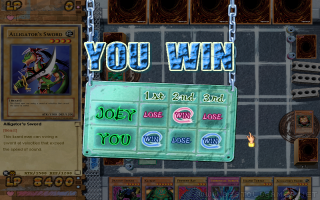 Yu-Gi-Oh!: Power of Chaos - Joey the Passion screenshot